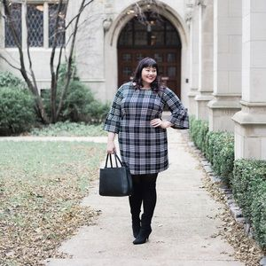 Just My Size Dresses - Gingham Checkered Dress
